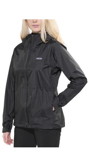 Patagonia Torrentshell Jacket Women Black